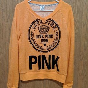 Victoria's Secret PINK varsity sweatshirt
